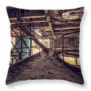 A Look Into The Past. Throw Pillow