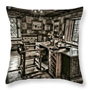A Look To The Past Throw Pillow by Susan Candelario