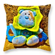 A Lost And Forgotten Toy Throw Pillow