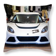 A Lotus Exige S Throw Pillow