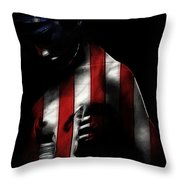 A Love Called Liberty Throw Pillow