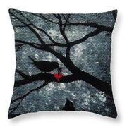 A Love Story No 7 Throw Pillow