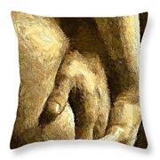 A Love Touch Throw Pillow