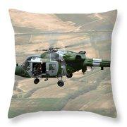 A Lynx Mk 9a  Throw Pillow