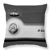 A M C 1972 Gremlin Marque Throw Pillow