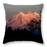 A Majestic Goodnight Throw Pillow