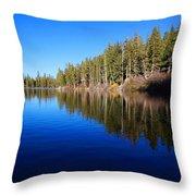 A Mammoth Lake Throw Pillow