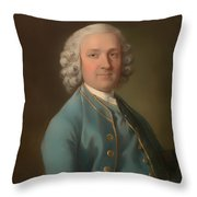 A Man Called Mr Wood - The Dancing Master Throw Pillow