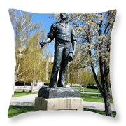 A Man With A Vision Throw Pillow