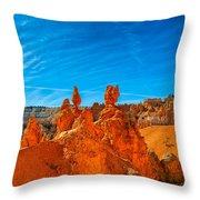 A Martian Earth Throw Pillow