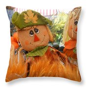 A Match Made In The Corn Field Throw Pillow