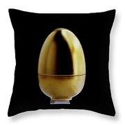 A Matroschka Egg Throw Pillow