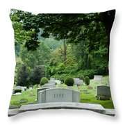 A Matter Of Life And Death Throw Pillow