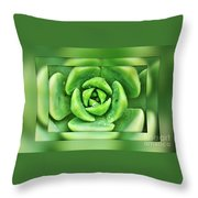 A-maze-in-nature Throw Pillow