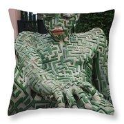 A Maze Ing Man 1 Throw Pillow