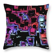 A Maze Zing - 03c07 Throw Pillow