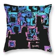 A Maze Zing - 01c01 Throw Pillow