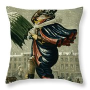 A Merry Christmas And A Happy New Year Throw Pillow