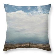 A Mix Of Emotions Throw Pillow by Laurie Search