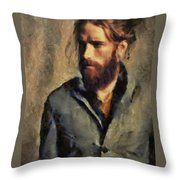 A Modern Day Edouard Throw Pillow