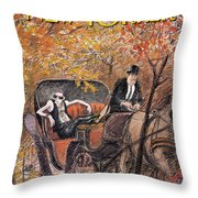 New Yorker October 5th, 1992 Throw Pillow