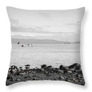 A Moment In Time Herring Season Throw Pillow