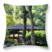 A Moment Of Tranquility Throw Pillow