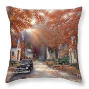 A Moment On Memory Lane Throw Pillow
