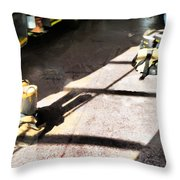 A Moment's Notice Throw Pillow