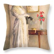 A Moment's Reflection Throw Pillow