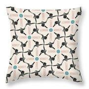 A Monkey Design Throw Pillow