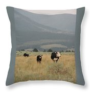 A Montana Memory Throw Pillow