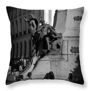 A Monument In Rio Throw Pillow
