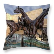 A Monument To Freedom Throw Pillow