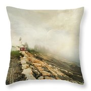 A Morning In Maine 2 Throw Pillow by Darren Fisher