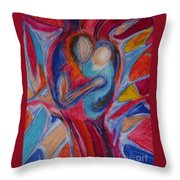 A Mothers Love Throw Pillow