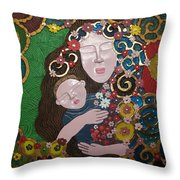A Mother's Lullaby Throw Pillow