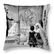A Mother's Moment Throw Pillow