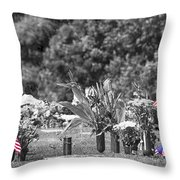 A Mother's Pain Throw Pillow