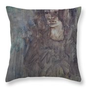 A Question Of Shadows Throw Pillow