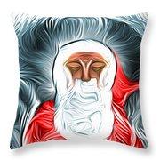 A Nap Till Xtmas Throw Pillow