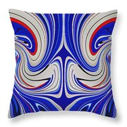 A Nation Conceived Throw Pillow