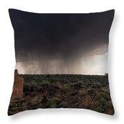A Navajo 'male' Rain Throw Pillow