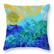 A New Day Full Of Promises Throw Pillow