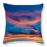 A New Day Starts Throw Pillow