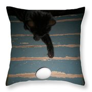 A New Kind Of Ball? Throw Pillow