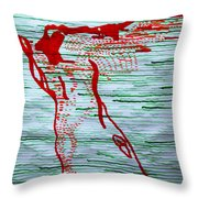 A New Nation - South Sudan Throw Pillow