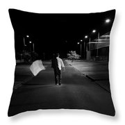 A New Path Throw Pillow