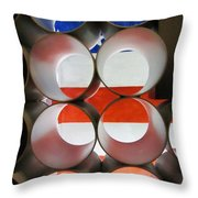 A New Perspective On The American Flag Throw Pillow