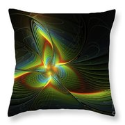 A New Star Is Born Throw Pillow by Deborah Benoit